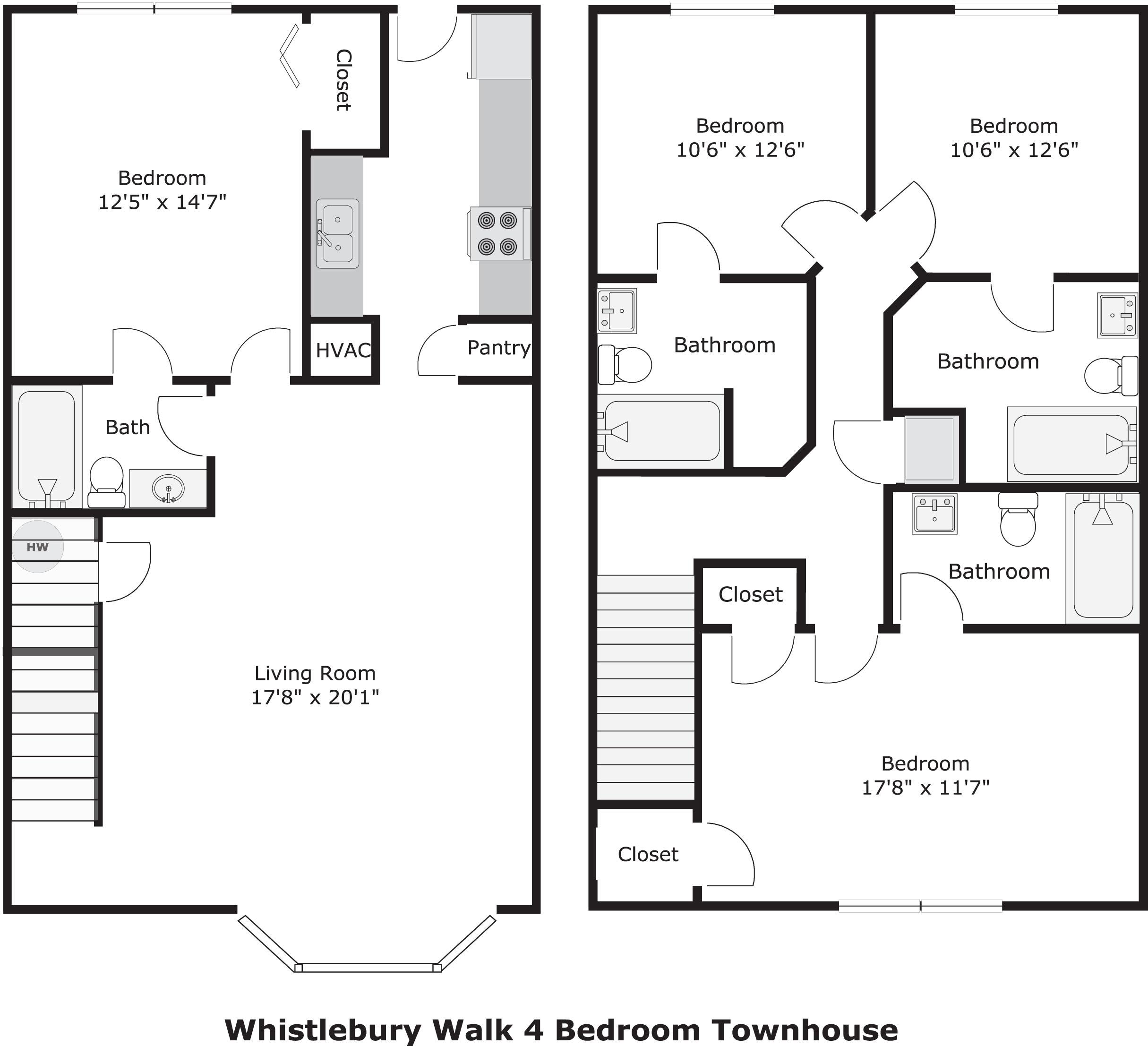 Whistlebury Walk Apartments In Athens, Georgia