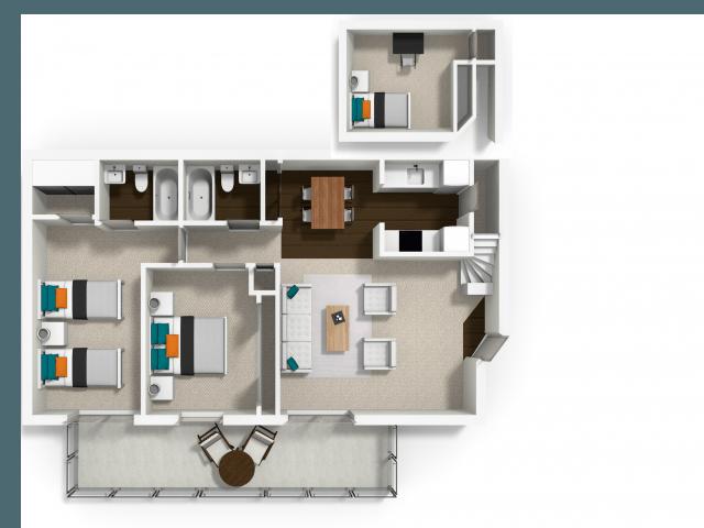 La Salle Apartments In Davis California