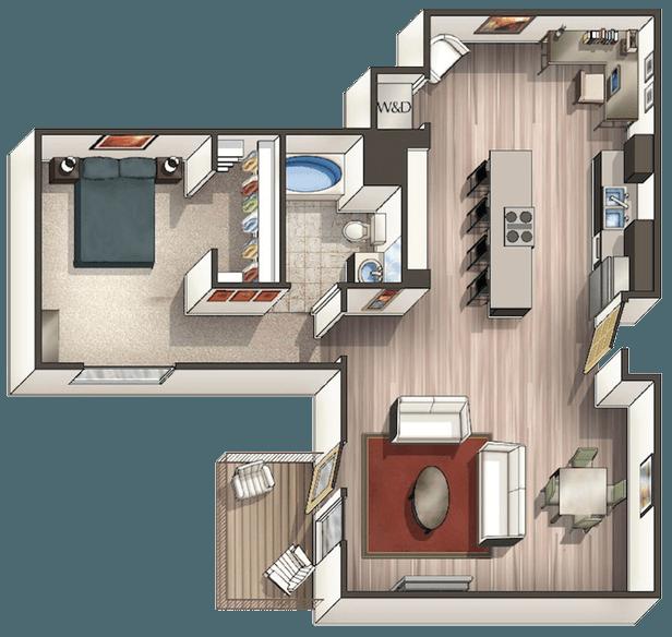West Village Apartments In Davis, California