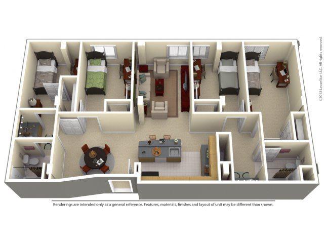 100 Midtown Apartments In Atlanta Georgia