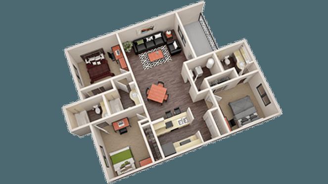 University estates at austin apartments in austin texas - 4 bedroom apartments in austin tx ...