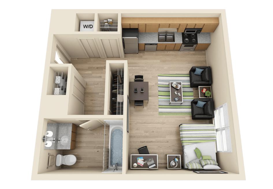 Burnham 310 Apartments In Champaign Illinois