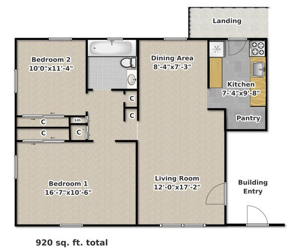 Carlton Scott Apartments In Blacksburg Virginia