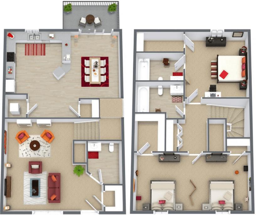Apartments In Blacksburg Va: Green Street Station Apartments In Blacksburg, Virginia