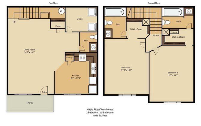 Maple Ridge Apartments In Blacksburg Virginia