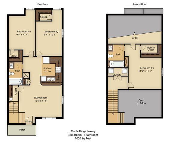 Maple Ridge Apartments In Blacksburg, Virginia