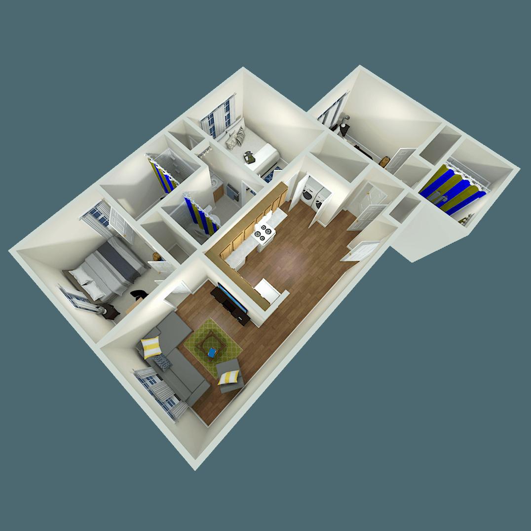 Sebastian Village apartments in Greensboro, North Carolina