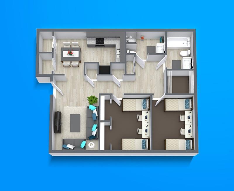 Liberty Square Apartments In Provo Utah