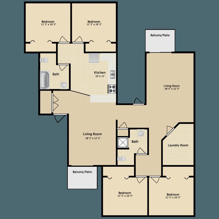 Greenbriar Apartments: Greenbriar Apartments In Kalamazoo, Michigan
