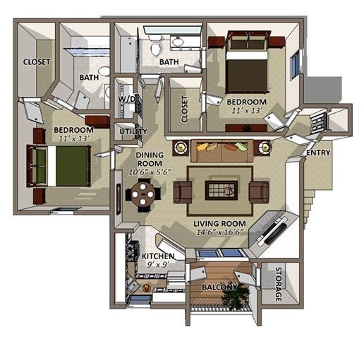 Sawgrass Apartments In Orlando, Florida