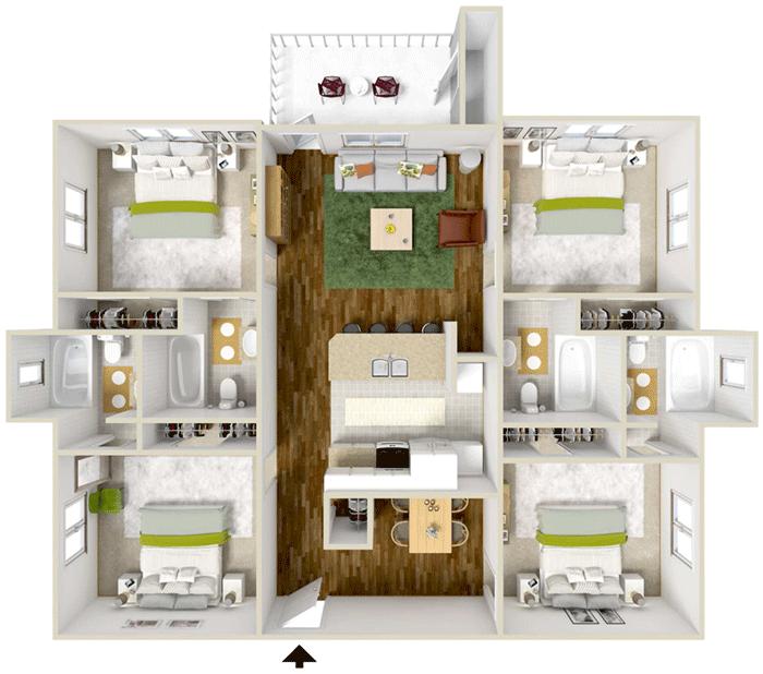 Seminole Grand Apartments In Tallahassee, Florida