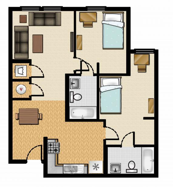 Apartments For Rent In South Carolina: The Cove At Coastal Carolina Apartments In Conway, South