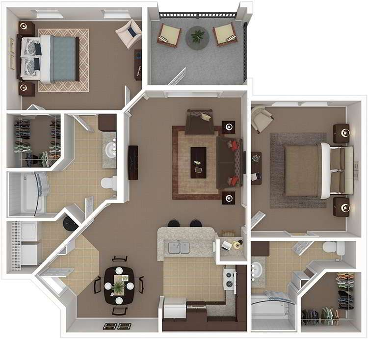 Evergreen Uptown Apartments In Gainesville, Florida