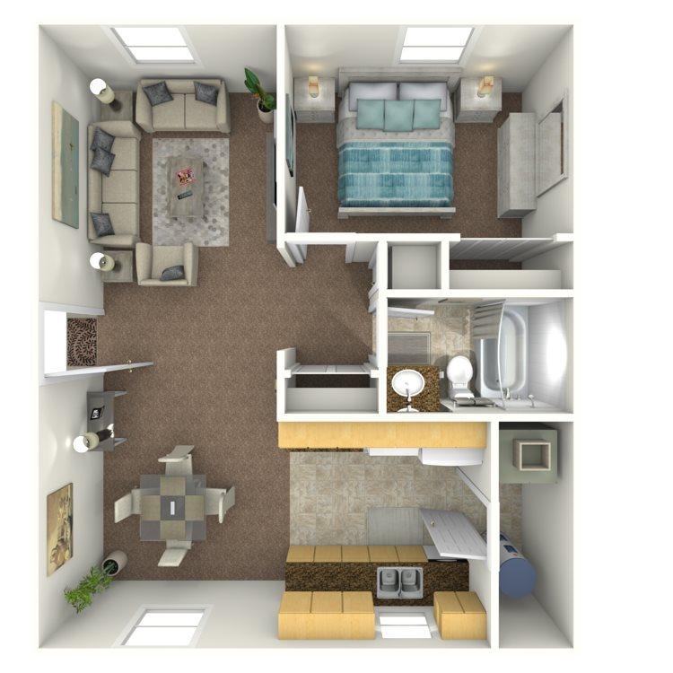 Garden Hill Apartments: Villas At Garden Way Apartments In Rock Hill, South Carolina