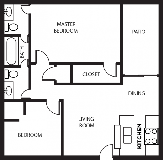 Apartments In Lubbock For Students: Boston Creek Apartments In Lubbock, Texas