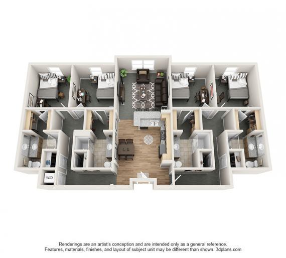 The Promenade Apartments: Village Promenade Apartments In Muncie, Indiana