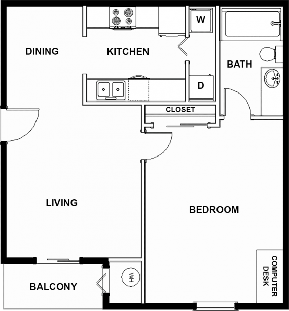 Furnished Apartments Austin Tx: The Quad At East Campus Apartments In Austin, Texas