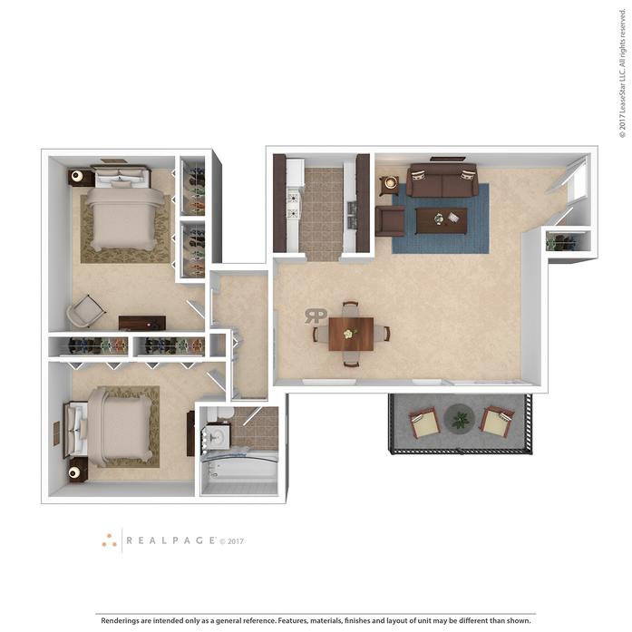 Three Chopt West Apartments In Richmond Virginia