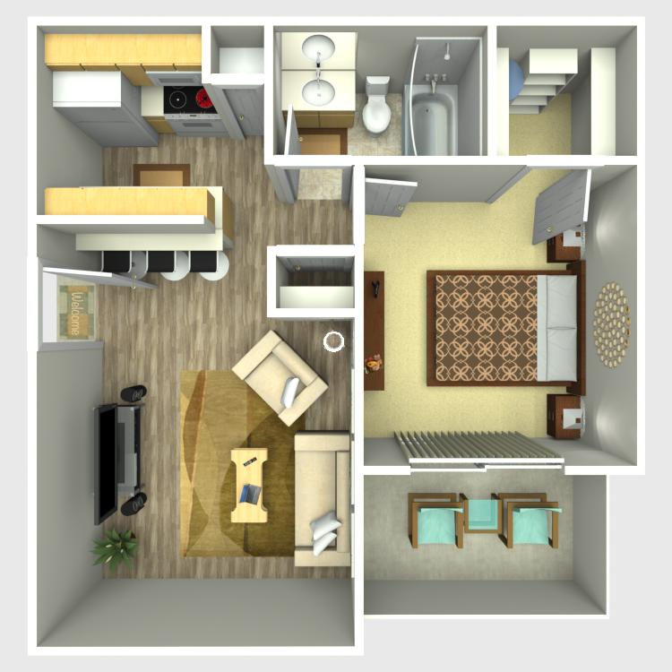 The Edge Apartments In Abilene, Texas