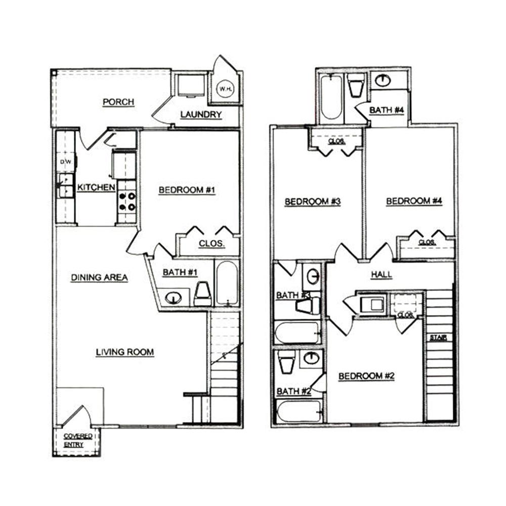Steeple's Glen Apartments In Ruston, Louisiana