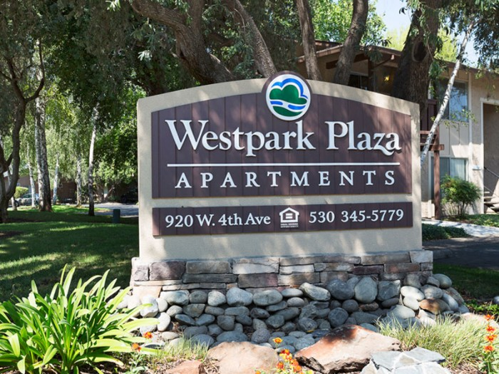 Westpark Plaza apartments in Chico, California
