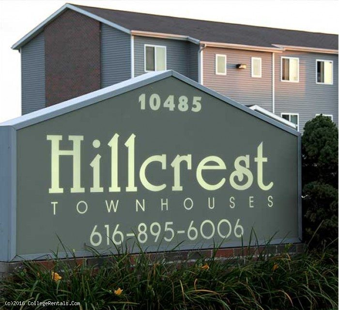 Hillcrest Apartments: Hillcrest Townhouses Apartments In Allendale, Michigan