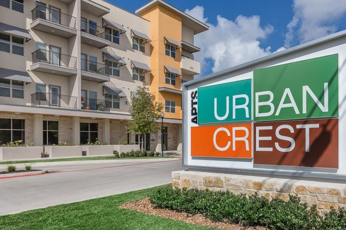 Urban Crest Apartments In San Antonio Texas