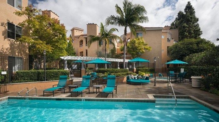 Valentia apartments in San Diego, California